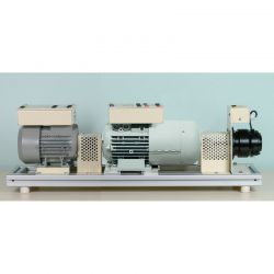 Study of the 3-phase asynchronous motor & the synchronous machine 300W