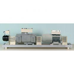Etude du moteur triphasé asynchrone et de la machine synchrone 300W