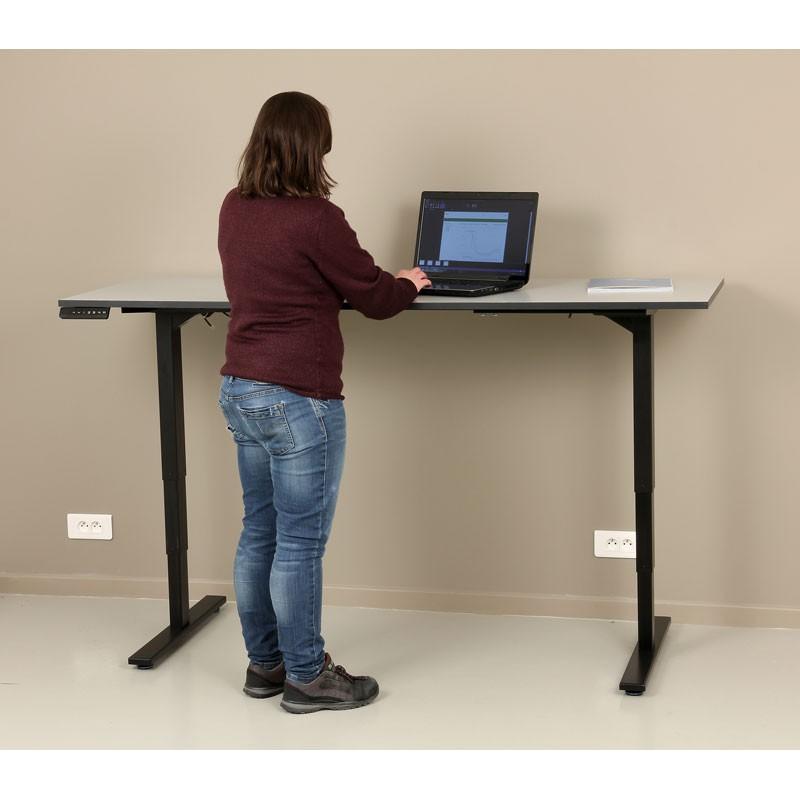 Bureau r glable en hauteur lectriquement - Bureau reglable en hauteur electrique ...